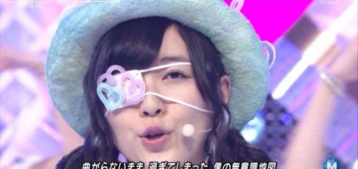 SKE48松井珠理奈の目の腫れを眼帯、メガネで隠したのは整形したためか?