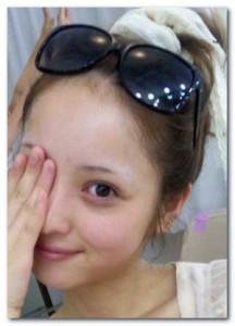 ネット上から「超絶かわいい」「顔小さすぎ」を称される佐々木希のスッピン画像05
